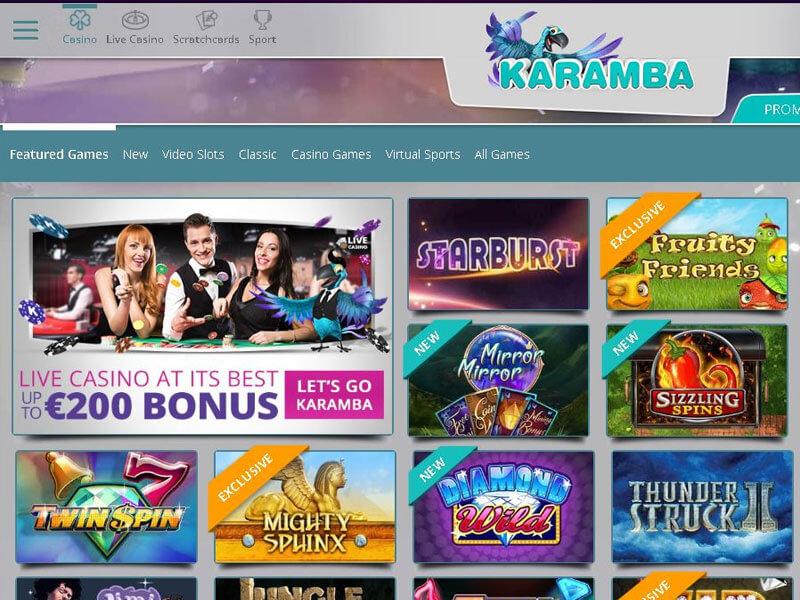 Karamba Casino Download